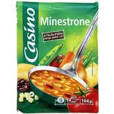 CASINO Minestrone - Soupe déshydratée 104g