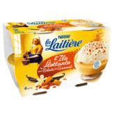 Nestlé Nestle La Laitière - L' Île Flottante Aux Éclats De Caramel - 4x100g