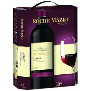 Merlot - Vin de Pays d'Oc - Roche Mazet - Vin rouge