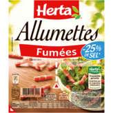 Herta Allumettes Fumées -teneur En Sel Réduite -25% - 1