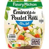 Fleury Michon Emincés De Poulet - 25% De Sel - 2x75g