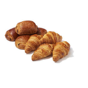 4 Croissants + 4 pains au chocolat pur beurre