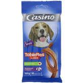 CASINO Tablettes pour chien - Au bœuf 100g