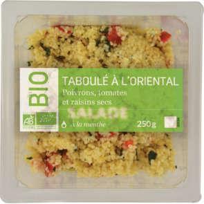 Taboulé aux légumes - Biologique