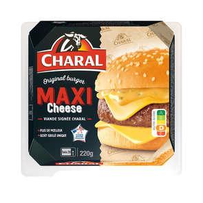 Maxi cheese burger
