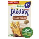 Blédina Blédine - Croissance - Céréales Chocolat Pour Bébé -... - 400g