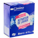 CASINO Activateur de lavage - Linge blanc - Tablet
