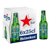 Heineken Bière Sans Alcool - 0 Degré - 6x25cl
