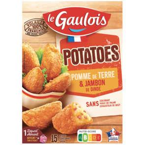 Potatoes - Pomme de terre et jambon de dinde