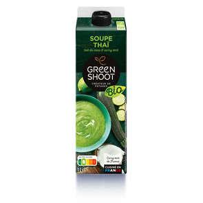 Soupe Courgette coco curry vert - Biologique