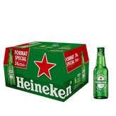 Heineken Bière Blonde - Alcool 5 % Vol. - 24x25cl