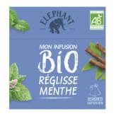 Lipton Elephant Infusion - Réglisse Menthe - Biologique - 26g