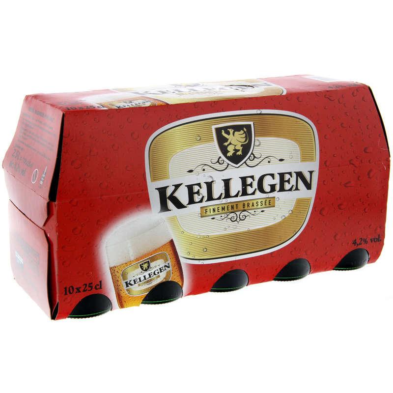 Biere blonde - Alcool 4,2% vol 10x25cl