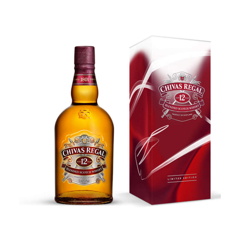 Whisky - 12 ans d'âge - Blended scotch whisky - Alc. 40% vol.
