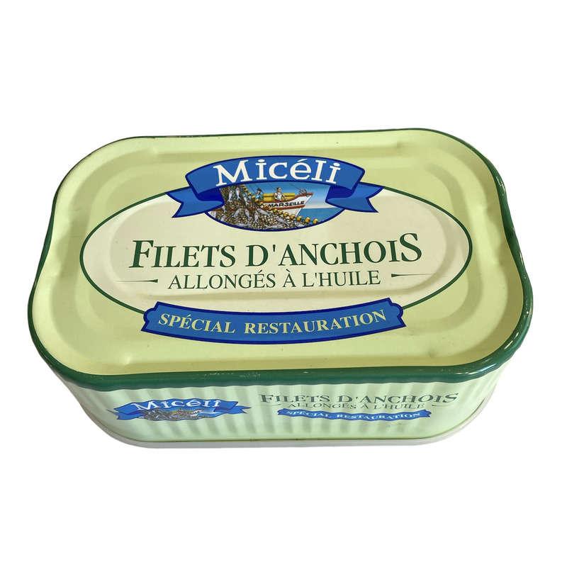 Miceli anchois à l'huile d'olive 800g