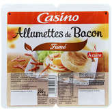 CASINO Allumettes de bacon fumé