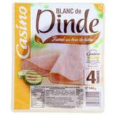 CASINO Blanc de dinde - Fumé au bois de hêtre - 4