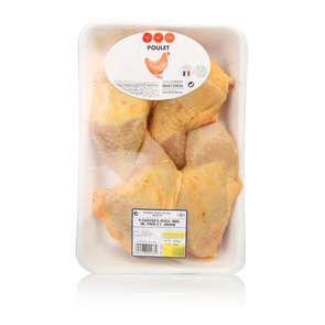 Cuisse de poulet jaune