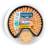 Delpierre Couronne De Crevettes Décortiquées Sauce Poivrons ... -