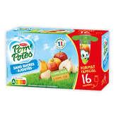 Materne Materne Pom'potes - Compote - 8 Pomme Et 8 Pomme/poire - 1