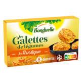 Bonduelle BONDUELLE La rustique - Les galettes de légumes - Carottes -... - 300g
