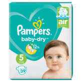 Pampers Baby Dry - Changes Bébé - Taille 5 - X39