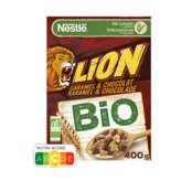 Nestlé Lion - Céréales Caramel Et Chocolat - Biologique - 400g