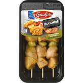 Brochettes de filets de poulet marinés à l'olive et au romarin, et olive verte, LE GAULOIS, 3 ...
