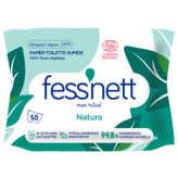 Fess'Nett FESS'NETT Papier toilette humide - Aloe vera - Sans paraben - x50