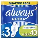 Always Ultra - Serviettes - Night - X40