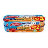 Saupiquet Filets De Maquereaux - Grillés - A La Méxicaine - 2x120g