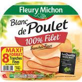 FLEURY MICHON Blanc de poulet 8 tr 240 g