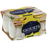 Yaourt au lait entier - Saveur citron 4x125g
