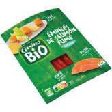 Emincés de saumon fumé Biologique