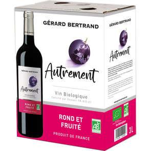 Autrement - Vin rouge du Sud de France - Rond et Fruité - Biologique