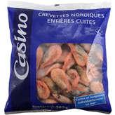 Crevettes entières cuites surgelées