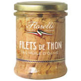 Florelli FLORELLI Filets de thon à l'huile d'olive - 200g