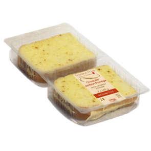 Croque-monsieur jambon emmental - x2