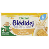 Blédina Bledina Blédidej - Brique - Lait Infantile Et Céréales - Liq... - 4x250ml