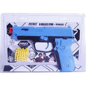 Pistolet à billes avec 70 billes
