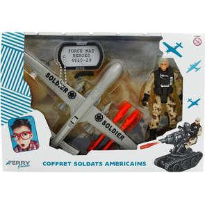 Coffret soldats américains