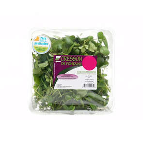 Salade cresson - Sans résidu de pesticides - Cat. 1
