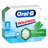 Oral B HOLLYWOOD Oral-B - Chewing-gum - Menthe - x3