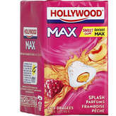 Hollywood Max - Chewing-gum - Splash Parfums Framboise Pêche... - 3x10