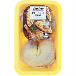 Cuisse de poulet jaune - x2