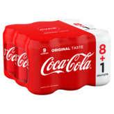 Coca Cola Soda Cola - Boisson Gazeuze - Canettes 8+1 Gratuit... - 9