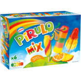 Nestlé Pirulo Mix - Bâtonnets Glacés - Aux Fruits - X6 - 2