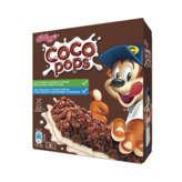 Kellogg's KELLOGG'S Barres de céréales coco pops - Gouter enfant - 6x20g