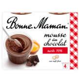 Bonne Maman Mousse Au Chocolat Et Aux Œufs Frais - 4