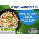 WeightWatchers Poulet Au Citron Risotto Et Ses Petits Légum... - 320g